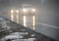 На дорогах Татарстана ожидается гололед и снежные заносы