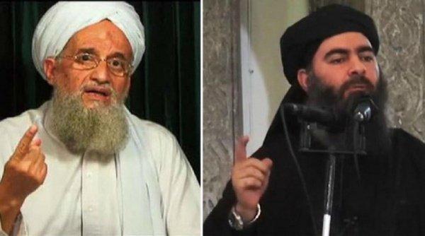 Айман аль-Завахири и Абу Бакр аль-Багдади.