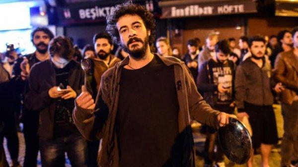 Протесты в Стамбуле.