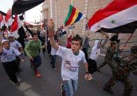 День независимости отметили в Сирии