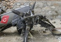 В Турции разбился вертолет с 14 пассажирами на борту
