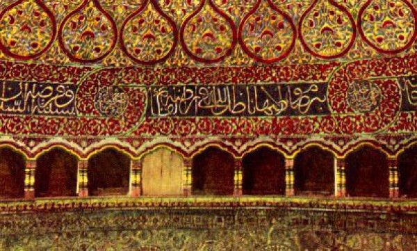 Интерьер мечети