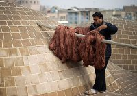 Удивительный процесс изготовления ковров