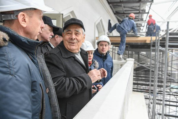 Минтимер Шаймиев в Болгаре.