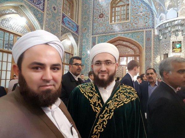 Муфтий РТ в Иране.