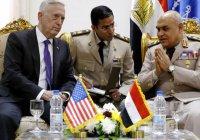 Глава Пентагона обсудил с руководством Египта борьбу с терроризмом