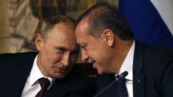 Переговоры Путина и Эрдогана.