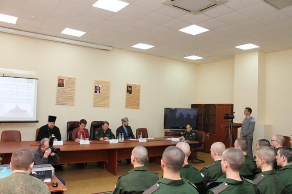 Сотрудники ДУМ РТ выступили перед призывной молодежью