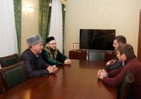 Камиль хазрат Самигуллин встретился с муфтием Мордовии