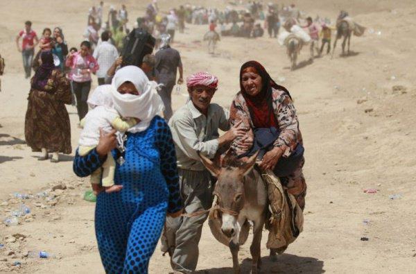 Ракку уже покинули сотни тысяч жителей.