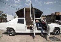 Такой лимузин вы не увидите нигде, кроме Палестины