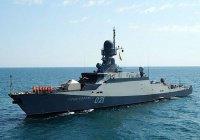 Татарстанские боевые корабли приняли участие в антитеррористических учениях