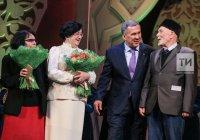 Рустам Минниханов в оперном театре вручил премии Тукая