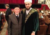Муфтий Татарстана поздравил обладателя премии Тукая 2017 года Харис хазрата Салихзянова