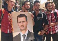 В Сирии проходит акция «Георгиевская ленточка»