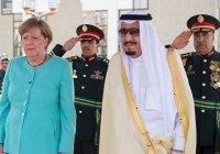 Меркель отказалась покрыть голову на встрече с саудовским королем