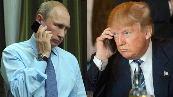 Путин иТрамп договорились осотрудничестве