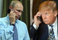 В США назвали телефонный разговор Путина и Трампа «очень хорошим»