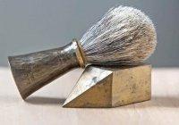 Можно ли использовать помазок для бритья из свиной щетины?