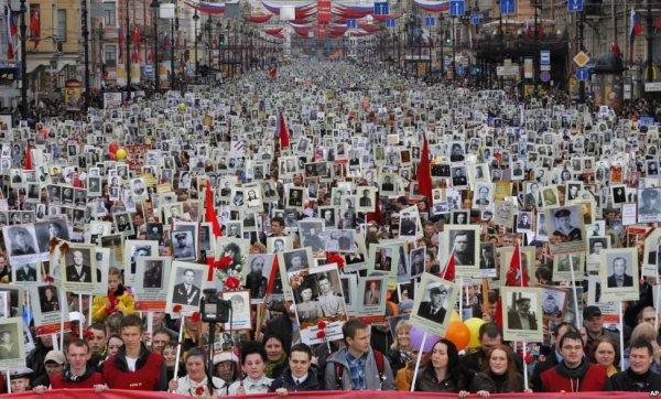 Улицы вцентре столицы перекроют для шествия «Бессмертного полка»