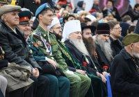 Муфтий Татарстана принял участие в параде в честь 72-й годовщины Дня Победы