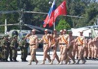 В Сирии прошел парад в честь Дня Победы