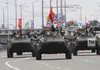 В казанском параде Победы приняли участие 1800 человек и 14 единиц техники