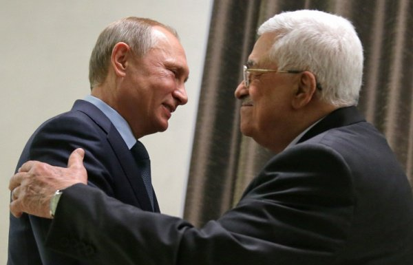 Встреча Владимира Путина и Махмуда Аббаса состоится в Сочи.
