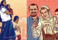 Открытки с мусульманками в хиджабах выпустили в США