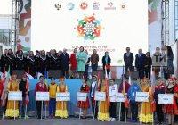 В Казани стартовали Всемирные игры юных соотечественников