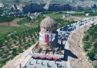 Уникальное перемещение древней гробницы в Турции