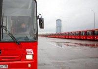 Метшин: В Казани один из новейших парков общественного транспорта по России