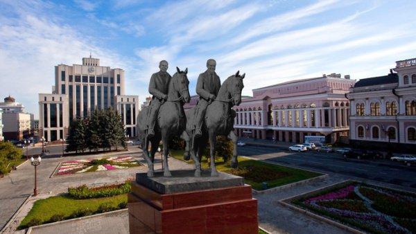 На площади Свободы в Казани хотят установить памятник Минтимеру Шаймиеву и Рустаму Минниханову вместо монумента Ленина