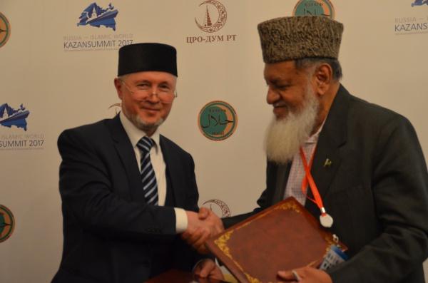 Подписание соглашения между Комитетом по стандарту «Халяль» и Агентством развития индустрии «Халяль»