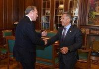 Минниханов встретился с замминистра иностранных дел РФ