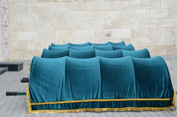 Церемония перезахоронения останков казанских ханов (ФОТОРЕПОРТАЖ)