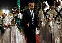 Соцсети рассмешил танец Трампа в Саудовской Аравии (Видео)