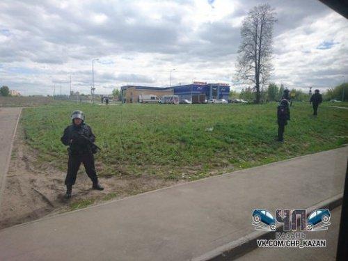 ВКазани проводятся антитеррористические учения