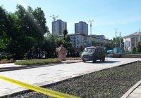 В центре Бишкека обезвредили муляж бомбы