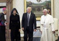 Ради Папы Римского супруга Трампа надела платок
