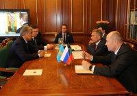 Минниханов встретился с послом Казахстана в России