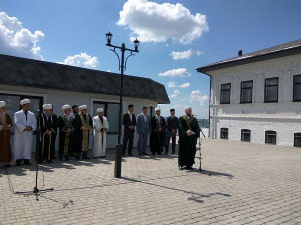 Муфтий РТ в Заинском районе.