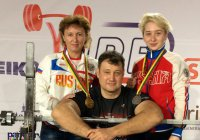В жиме штанги лежа лучшей в мире стала спортсменка из Татарстана