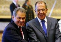 Лавров и Шойгу обсудили с египетскими коллегами борьбу с терроризмом