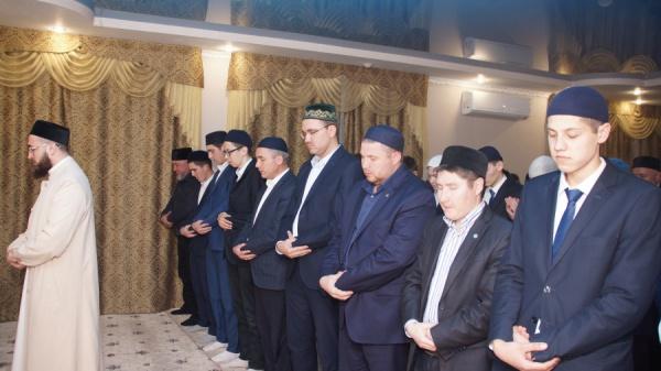 Ифтар с участием муфтия.