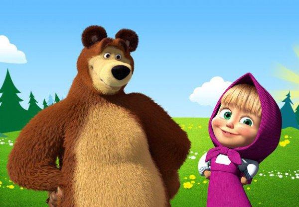 """""""Маша и медведь""""."""