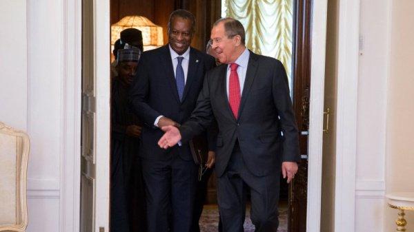 Министры иностранных дел России и Нигерии.