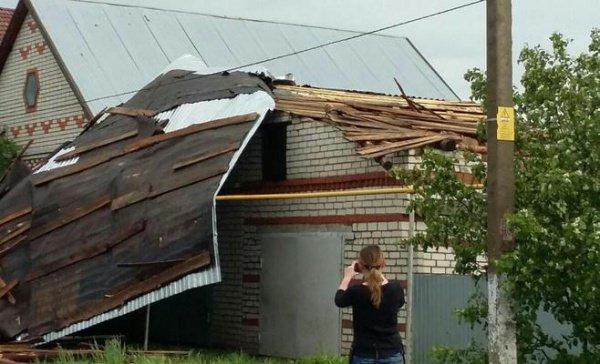 В Нурлатском и Черемшанском районах во время разгула стихии никто из татарстанцев не пострадал