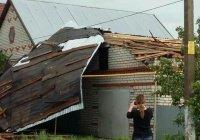 Минздрав: Во время урагана и града на юге Татарстана никто не пострадал
