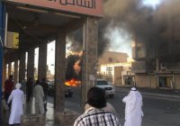 В Саудовской Аравии террористы подорвались на собственной бомбе (Видео)